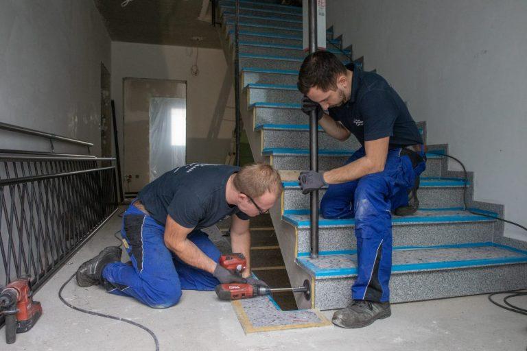 Montage Treppengelaender