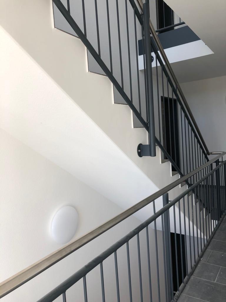 Stahltreppe, Treppenturm
